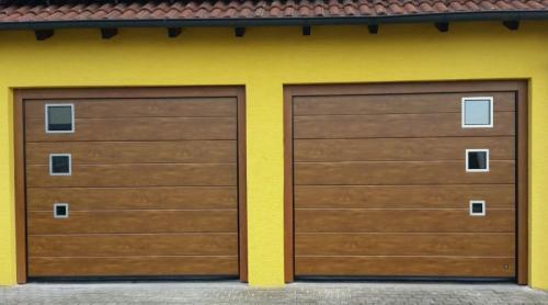 Woodgrain INox okna